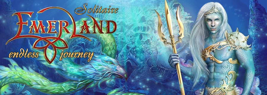 Emerland solitaire. Endless journey